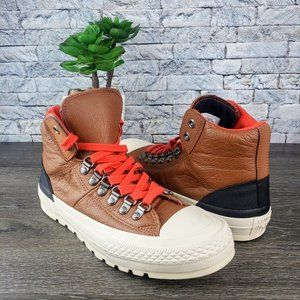 New Converse CT Street Hiker High Pinecone Brown